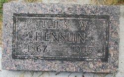 Julius W Henslin