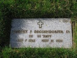 Timothy F Deggendorfer, Sr