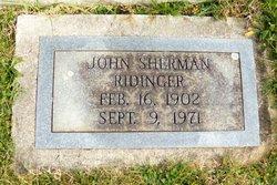 John Sherman Ridinger
