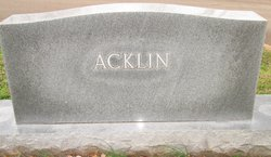 Virginia Nan <I>Rhoden</I> Acklin