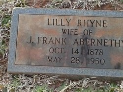 Lillie <I>Rhyne</I> Abernethy