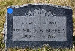 Rev Willie W. Blakely