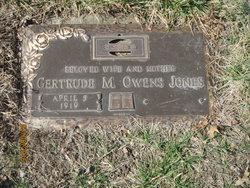 Gertrude Marie <I>McCulley</I> Jones
