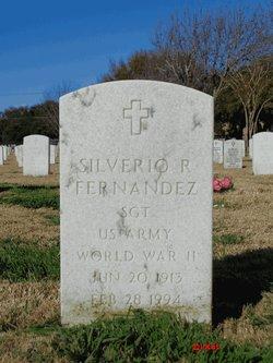 Silverio R Fernandez