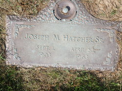 Joseph Montague Hatcher, Sr