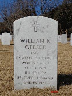 William K Geesee