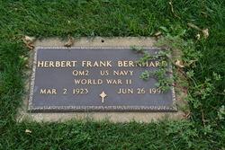 Herbert Frank Bernhard