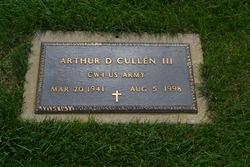 Arthur D Cullen, III
