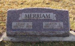 Leslie Joseph Merriam