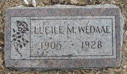 Lucile M Wedaae