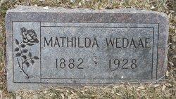 """Mathilda """"Tillie"""" Wedaae"""