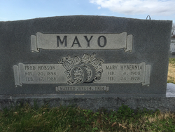 Fred Hobson Mayo