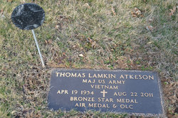 Maj Thomas Lamkin Atkeson
