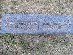 Paul Hammond Ford