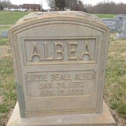 Lizzie <I>Beall</I> Albea