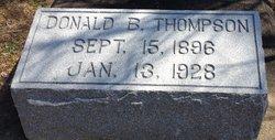 Donald B Thompson