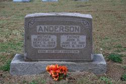 Rebecca Ellen <I>Sowder</I> Anderson