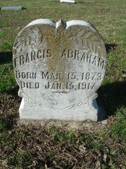 Francis <I>Herron</I> Abraham