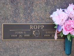 """John George """"J.G."""" Ropp"""
