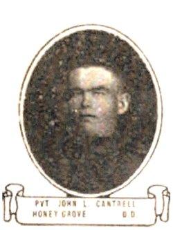 Pvt John Lee Cantrell