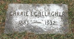 Carrie Ida Elizabeth <I>Blum</I> Gallagher