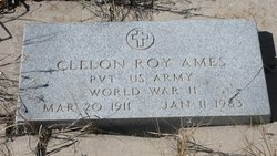 "PVT Clelon Roy ""Clee"" Ames"