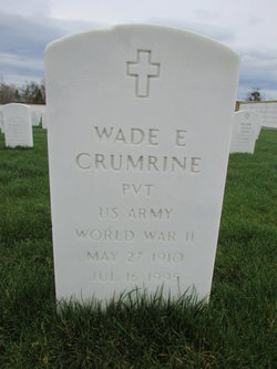 Wade E Crumrine