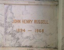 John Henry Russell