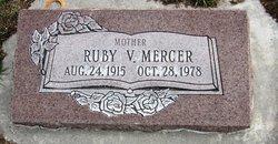 Ruby Georgina <I>Vowles</I> Mercer