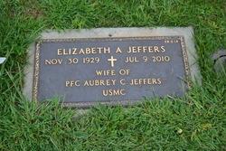 Elizabeth A. <I>McCoy</I> Jeffers