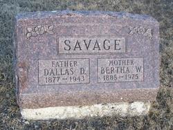 Dallas D. Savage