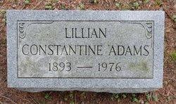 Lillian <I>Constantine</I> Adams