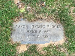 Aaron Ulysees Brooks