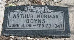Arthur Norman Boyns