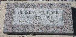 Herbert R Wilder