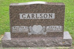 Edna F Carlson
