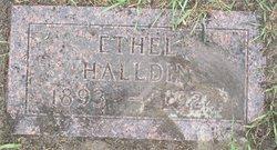Ethel Halldin