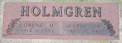 Harold A Holmgren