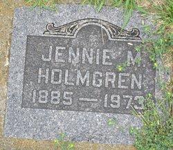 Jennie M Holmgren