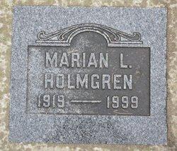 Marian L Holmgren