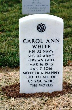 Carol Ann <I>Biggerstaff</I> White