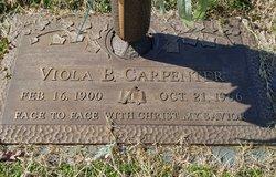 Viola <I>Baker</I> Carpenter
