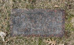 Jennie Viola <I>Long</I> Fosler