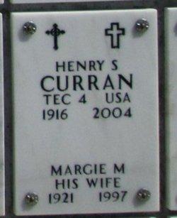 Margie M Curran