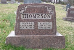 Alice C. <I>Speakman</I> Thompson