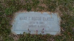 """Mary Tennessee """"Dollie"""" <I>Bacon</I> Ramsey"""