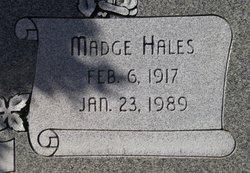 Madge Hales Johnson