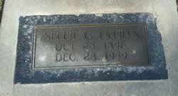 Nellie G <I>Moore</I> Everts