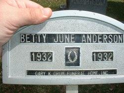 Betty Jane Anderson