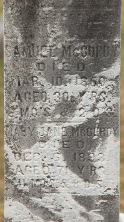 Mary Jane McCurdy